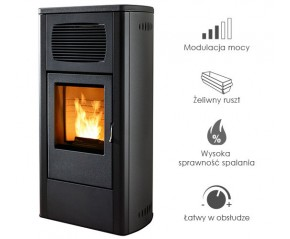 Piecyk na pelet -   RED Primula Air 9,5 kW